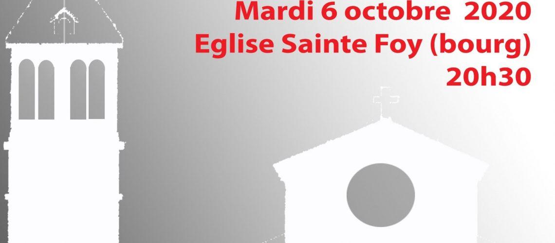 2020.10.06 - Concert église Ste Foy (image mise en avant)