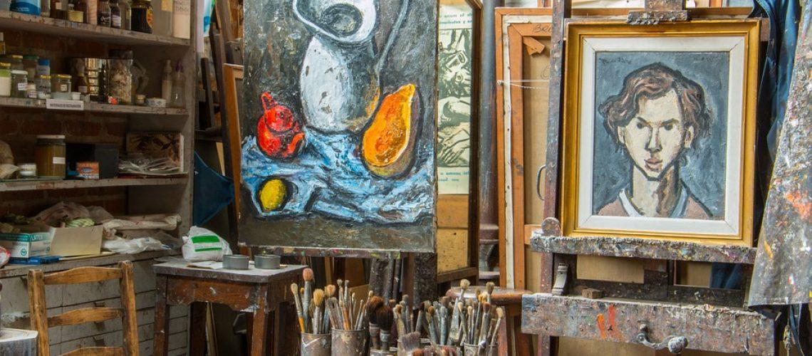 image atelier peinture